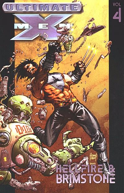 Couverture de Ultimate X-Men (2001) -INT04- Hellfire and Brimstone