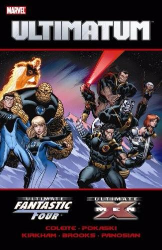 Couverture de Ultimatum (2009) -INT- Ultimatum: X-Men/Fantastic Four
