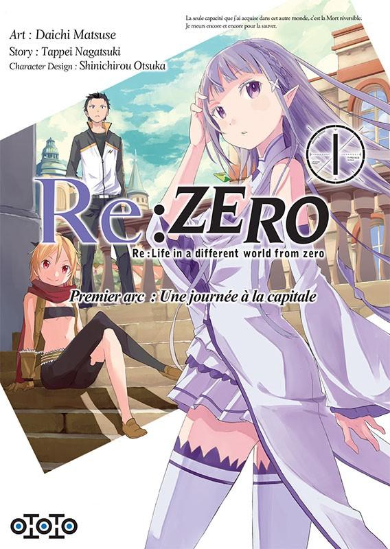 Couverture de Re:Zero (Re : Life in a different world from zero) -11- Premier arc : une journée à la capitale - 1