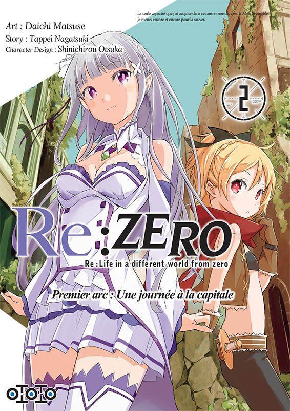 Couverture de Re:Zero (Re : Life in a different world from zero) -12- Premier arc : une journée à la capitale - 2