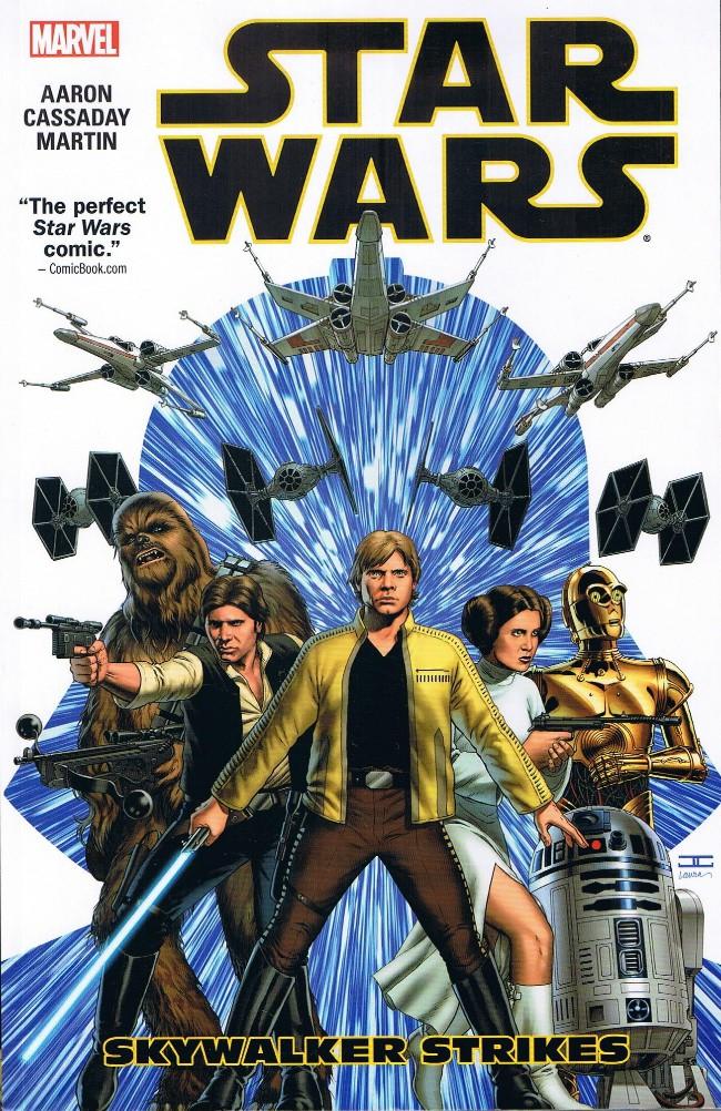 Couverture de Star Wars Vol.2 (Marvel comics - 2015) -INT1- Skywalker Strikes