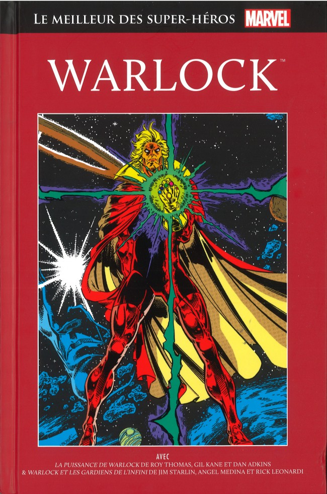 Couverture de Marvel Comics : Le meilleur des Super-Héros - La collection (Hachette) -33- Warlock