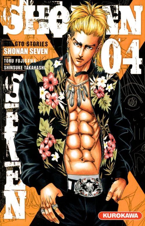 Couverture de GTO Stories - Shonan Seven -4- Tome 4