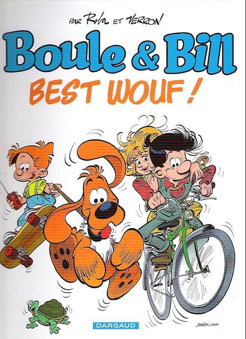 Couverture de Boule et Bill -02- (Édition actuelle) -HS07- Best wouf !