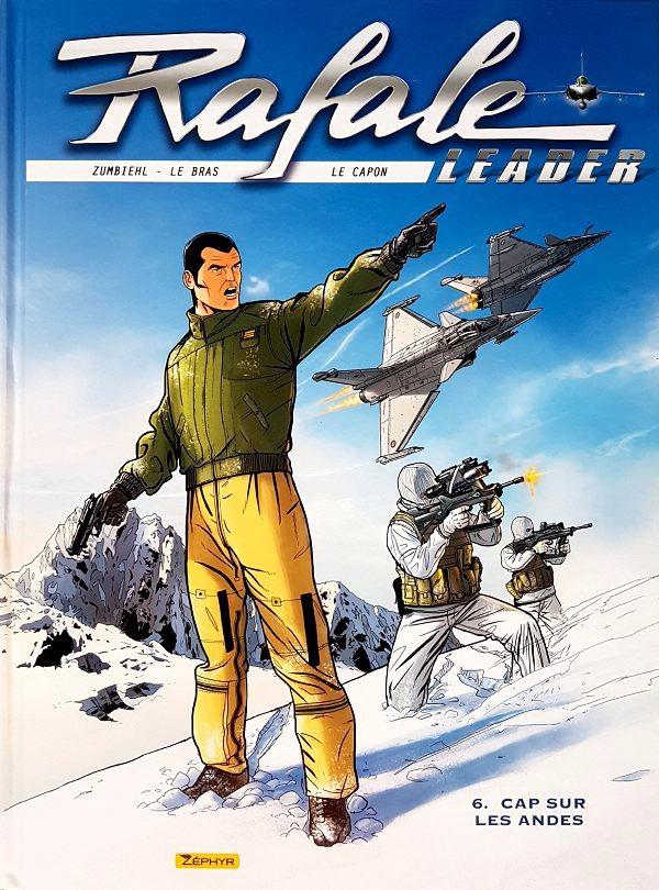 Couverture de Rafale leader -6- Cap Sur les Andes
