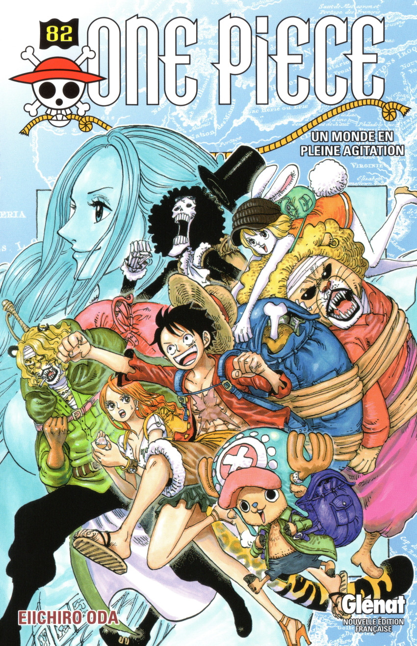 Couverture de One Piece -82- Un monde en pleine agitation