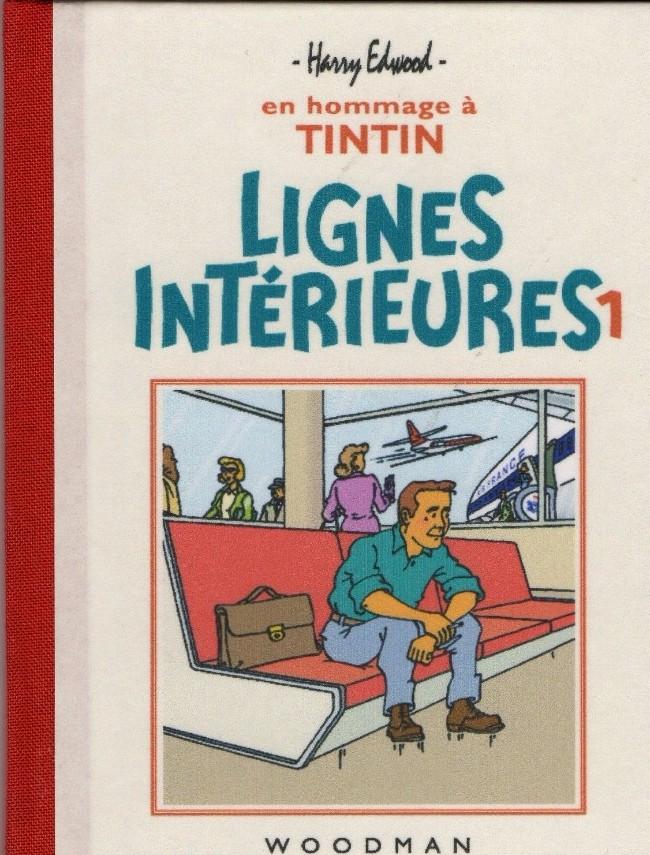 Couverture de Tintin - Pastiches, parodies & pirates - Lignes Intérieures 1