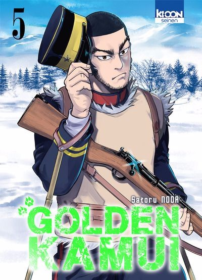 Couverture de Golden Kamui -5- Tome 5