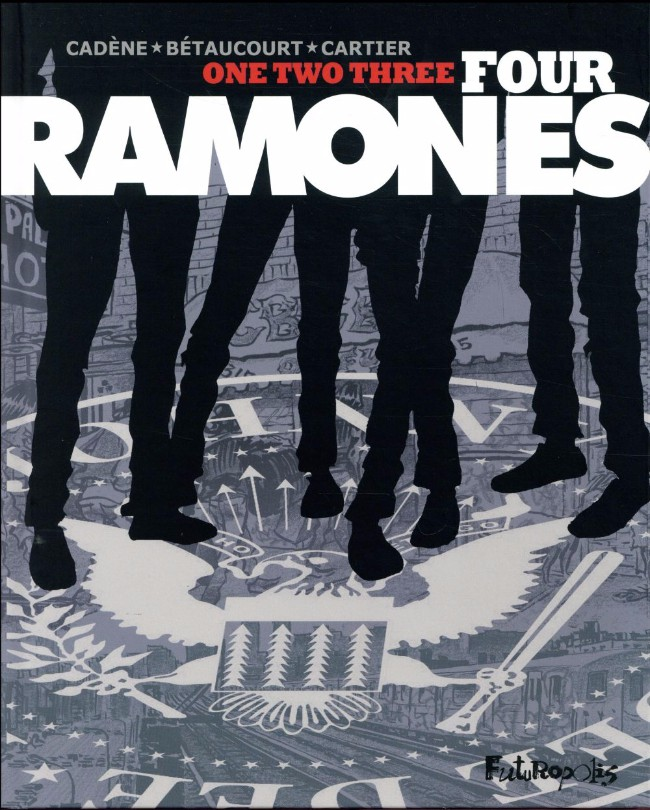 Couverture de One, two, three, four, Ramones!