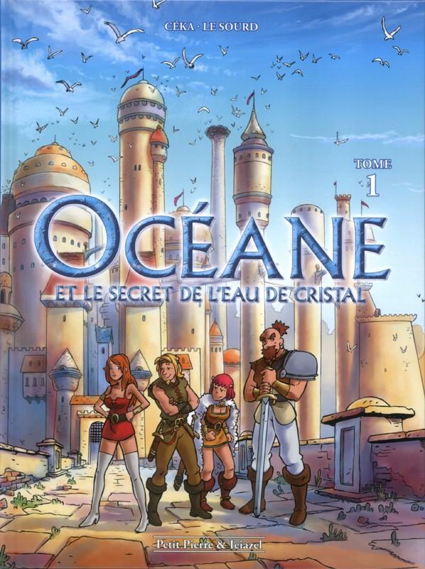 Couverture de Océane et le Secret de l'Eau de Cristal -1- Tome 1