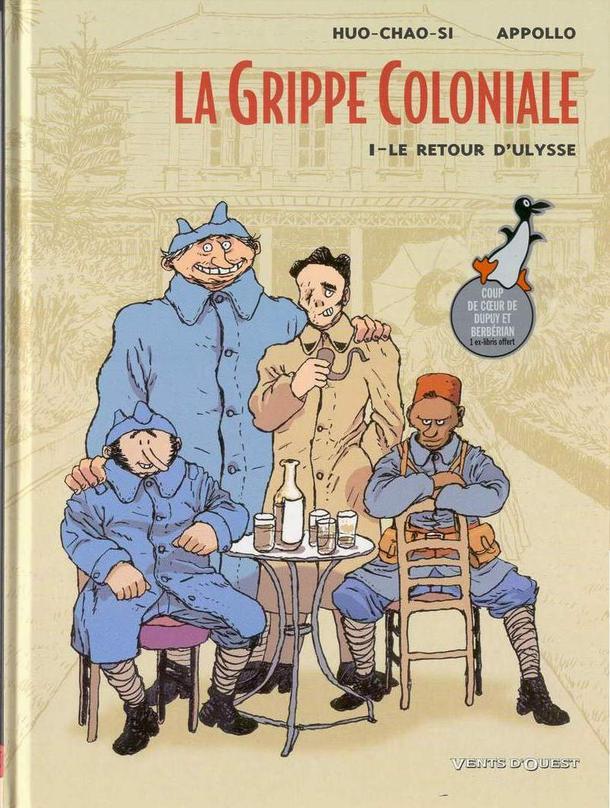 La grippe Coloniale - 2 tomes