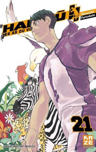 Couverture de Haikyu !! Les As du Volley -21- Tome 21