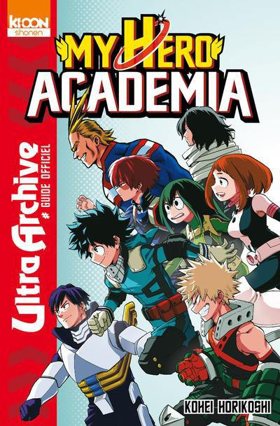 Couverture de My Hero Academia -HS- Ultra Archive