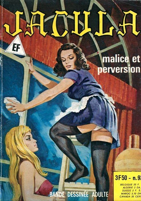 Couverture de Jacula -92- Malice et perversion