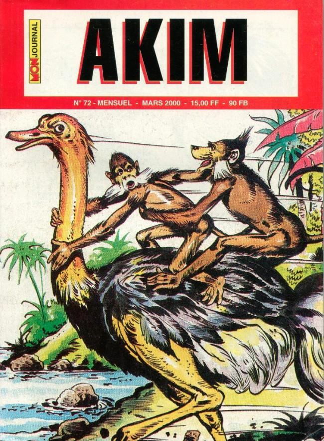 Couverture de Akim (2e série) -72- Ouragan sur la jungle