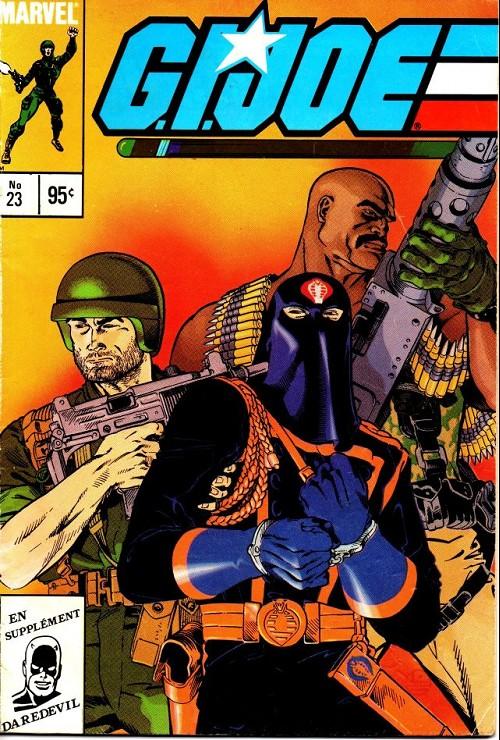 Couverture de G.I. Joe (Éditions héritage) -23- On capture le commandant cobra