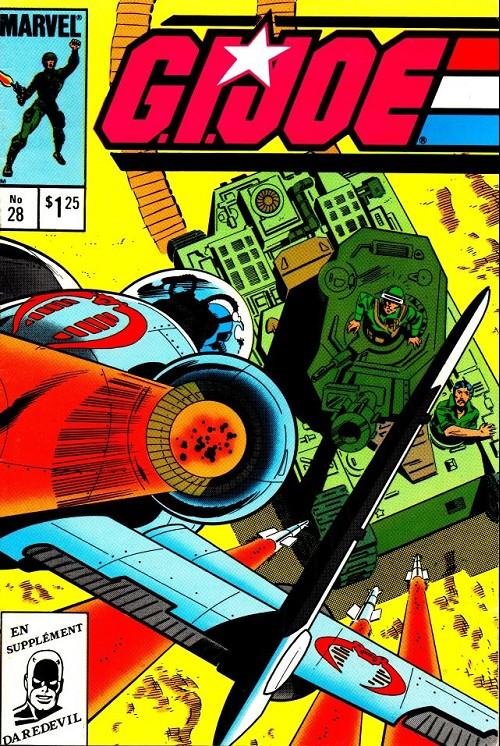 Couverture de G.I. Joe (Éditions héritage) -28- Feu de marais!