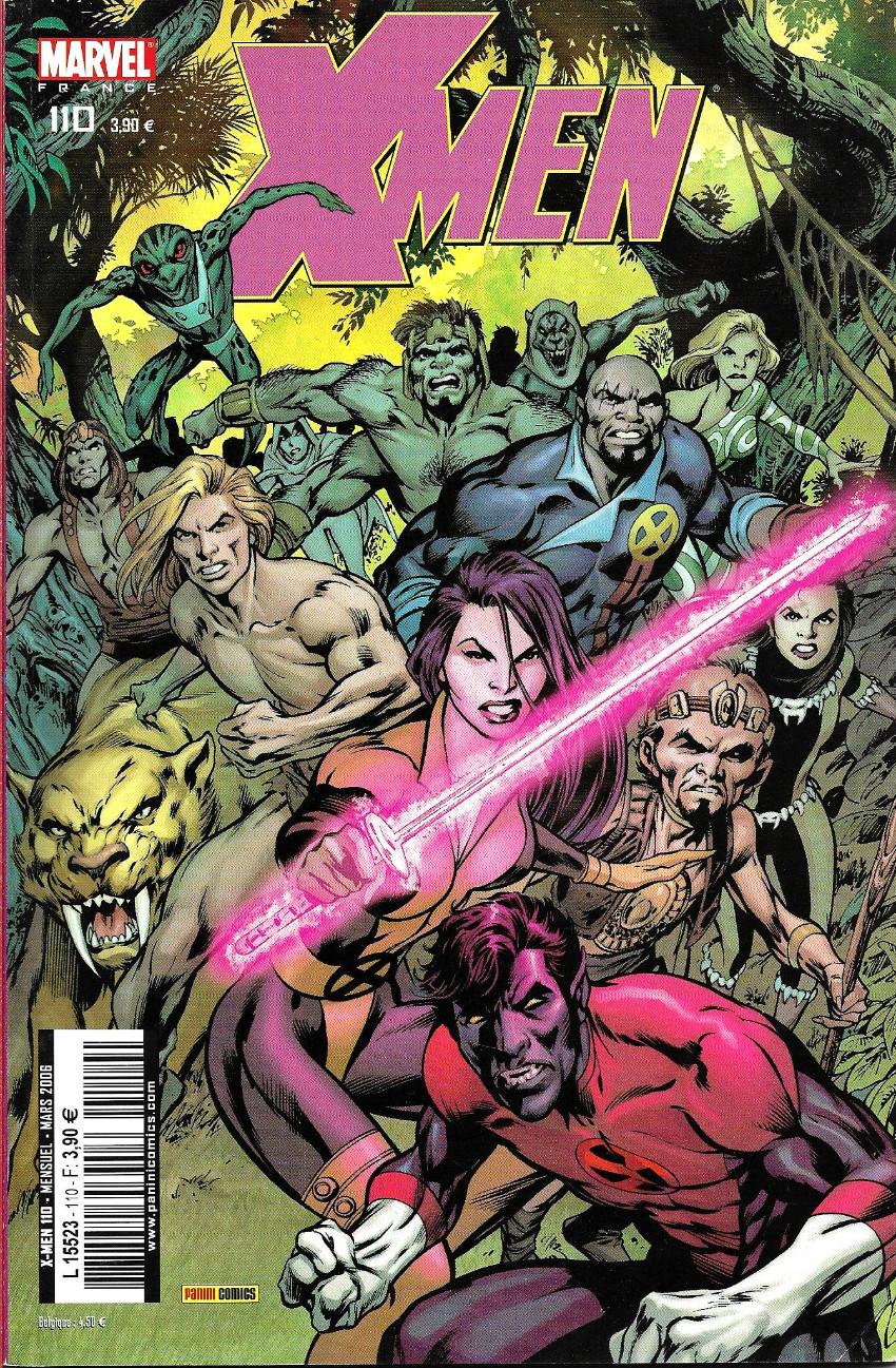 Couverture de X-Men (Marvel France 1re série) -110- La fin du monde (2)