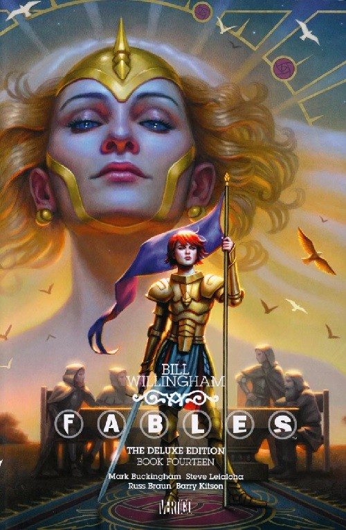 Couverture de Fables (2002) -INTHC14- The Deluxe Edition Book Fourteen