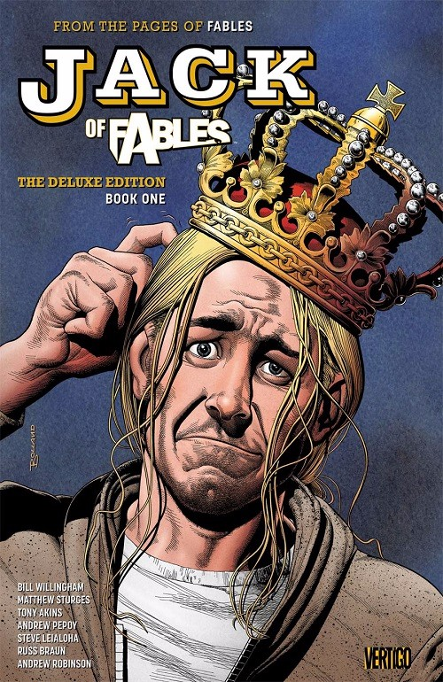 Couverture de Jack of Fables (2006) -INTHC01- Deluxe Edition Book One