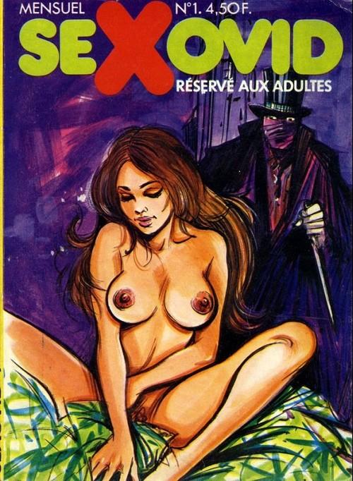 Couverture de Sexovid -1- Le spirite fou