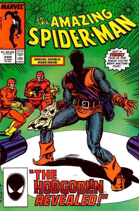 Couverture de The amazing Spider-Man Vol.1 (Marvel comics - 1963) -289- The Hobgoblin Revealed