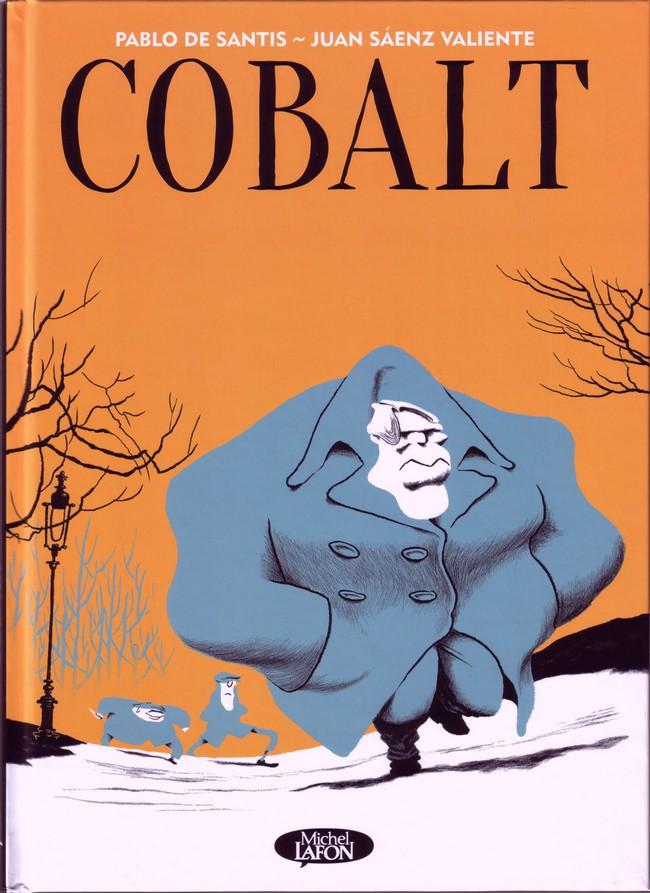 Couverture de Cobalt (De Santis/Sáenz Valiente) - Cobalt