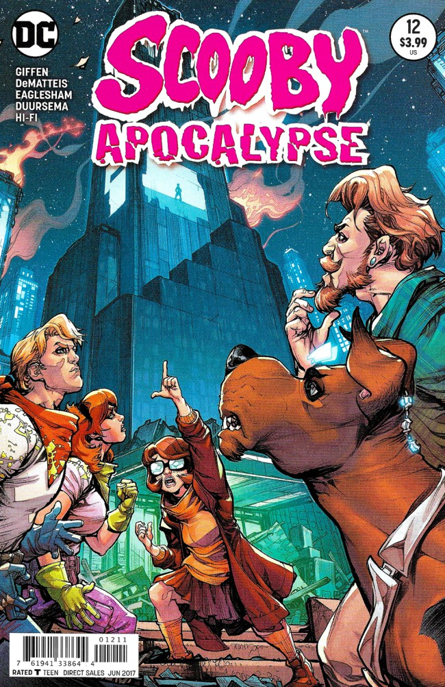 Couverture de Scooby Apocalypse (2016) -12- Family Reunion