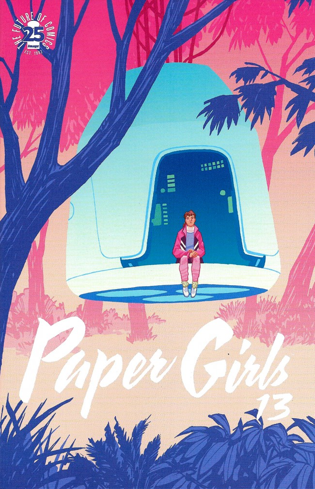 Couverture de Paper Girls (Image comics - 2015) -13- Paper Girls