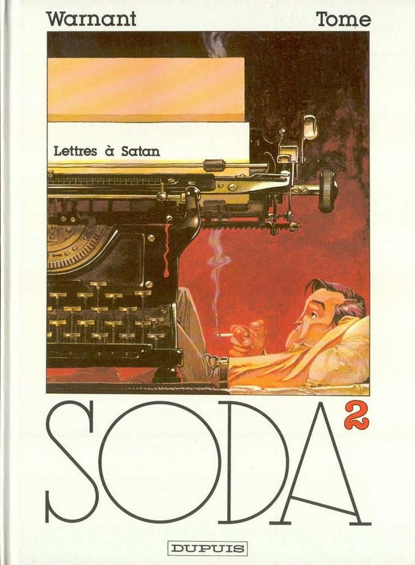 Couverture de Soda -2- Lettres à Satan