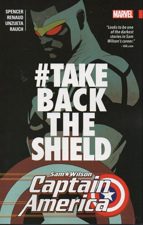 Couverture de Captain America: Sam Wilson (2015) -INT04- take back thje shield