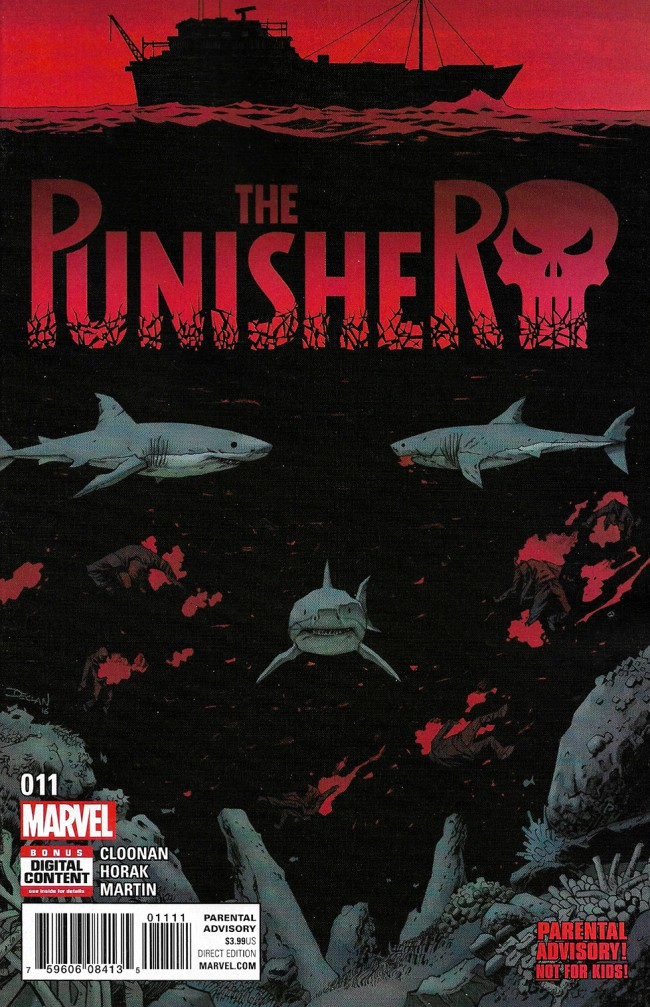 Couverture de Punisher (2016) (The) -11- Issue 11