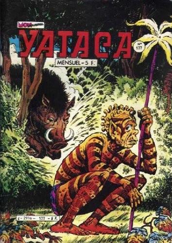 Couverture de Yataca (Fils-du-Soleil) -177- Fuite éperdue