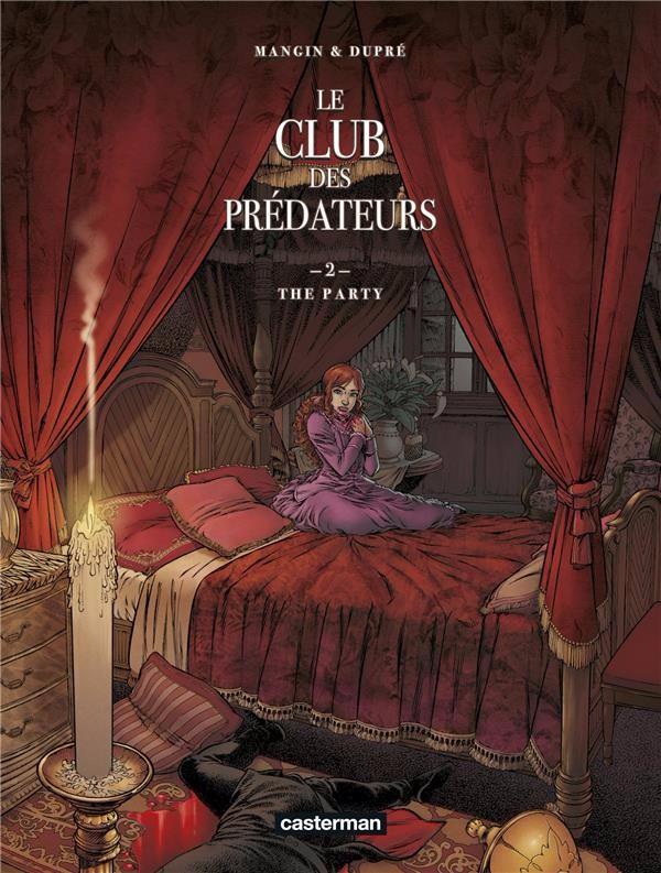 Couverture de Le club des prédateurs -2- The party