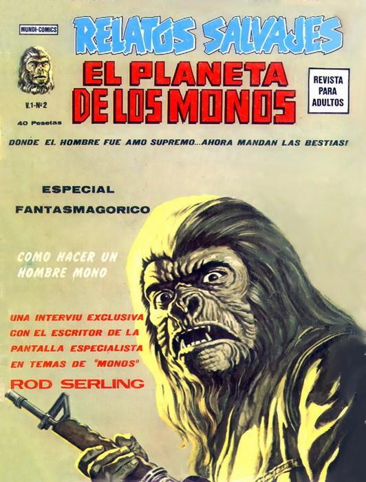 Couverture de Relatos salvages (Vol.1) -2- El Planeta de los Monos