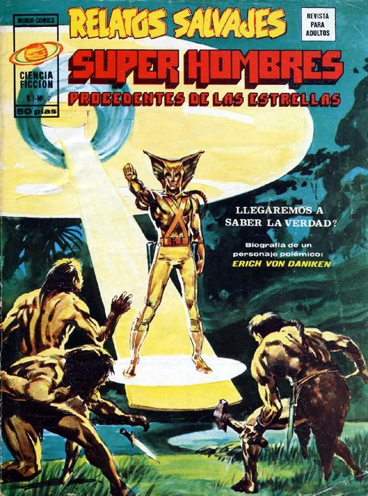 Couverture de Relatos salvages (Vol.1) -7- Super Hombres procedentes de las estrellas