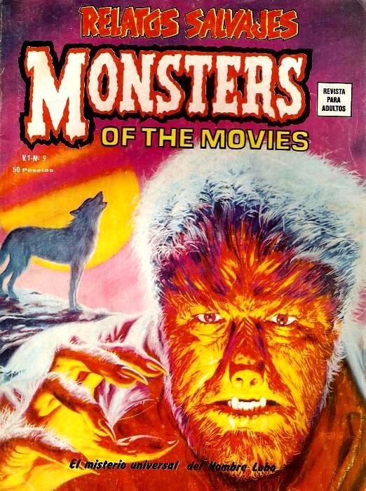 Couverture de Relatos salvages (Vol.1) -9- El Misterio Universal del Hombre Lobo