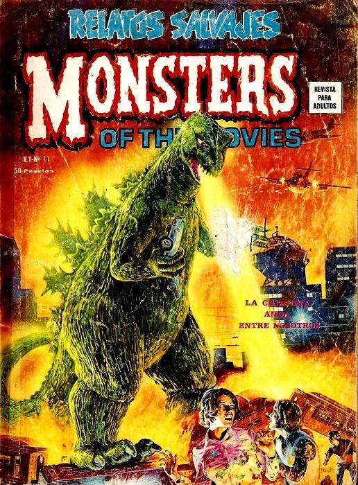 Couverture de Relatos salvages (Vol.1) -11- Monsters of the Movies: La Criatura Anda Entre Nosotros