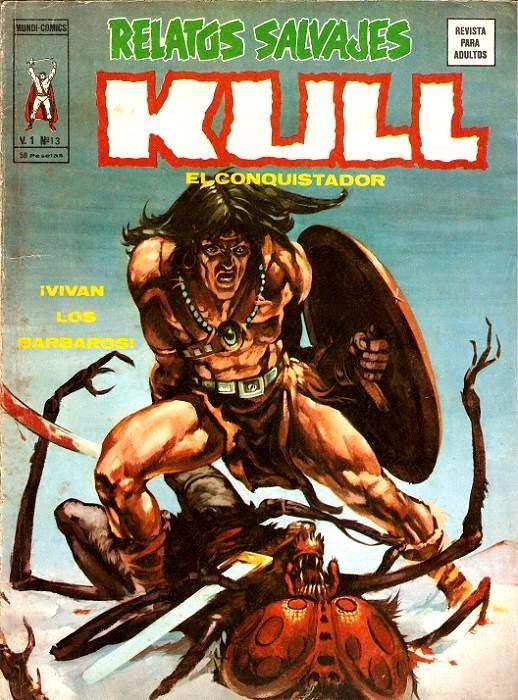 Couverture de Relatos salvages (Vol.1) -13- ¡¡Vivan los Bárbaros!!