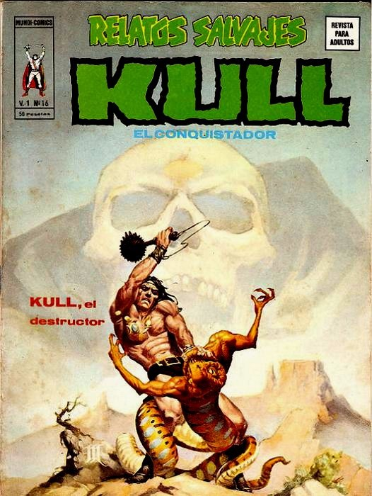 Couverture de Relatos salvages (Vol.1) -16- KULL, el destructor
