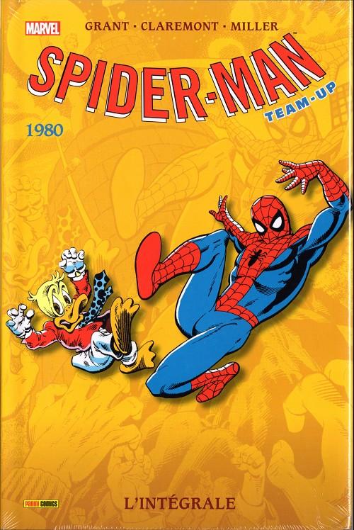 Couverture de Spider-Man Team-Up (L'Intégrale) -7INT- L'intégrale 1980