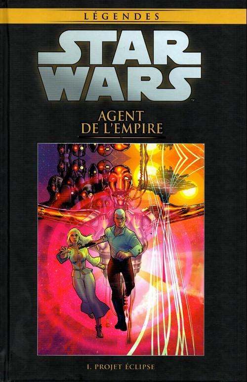 Couverture de Star Wars - Légendes - La Collection (Hachette) -3943- Agent de l'Empire - I. Projet Éclipse