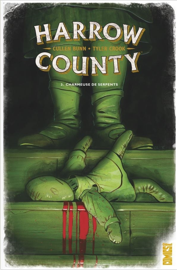 Couverture de Harrow County -3- Charmeuse de serpents