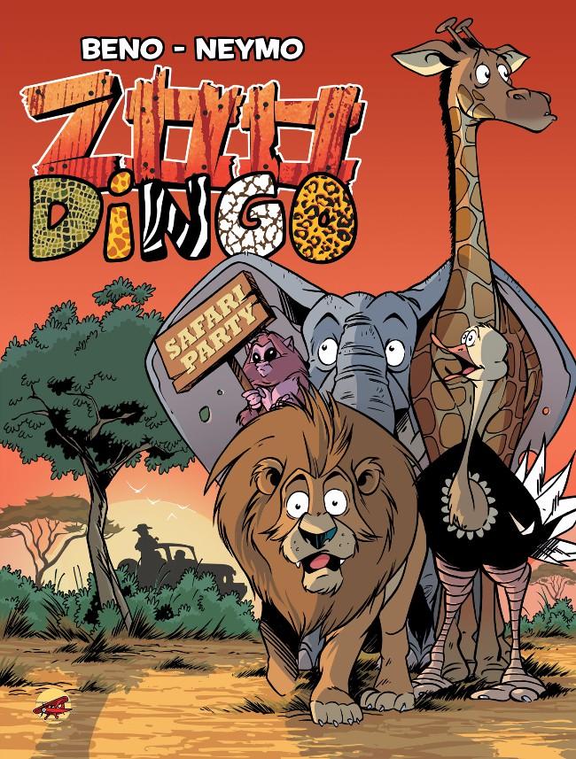 Couverture de Zoo Dingo -4- Safari Party