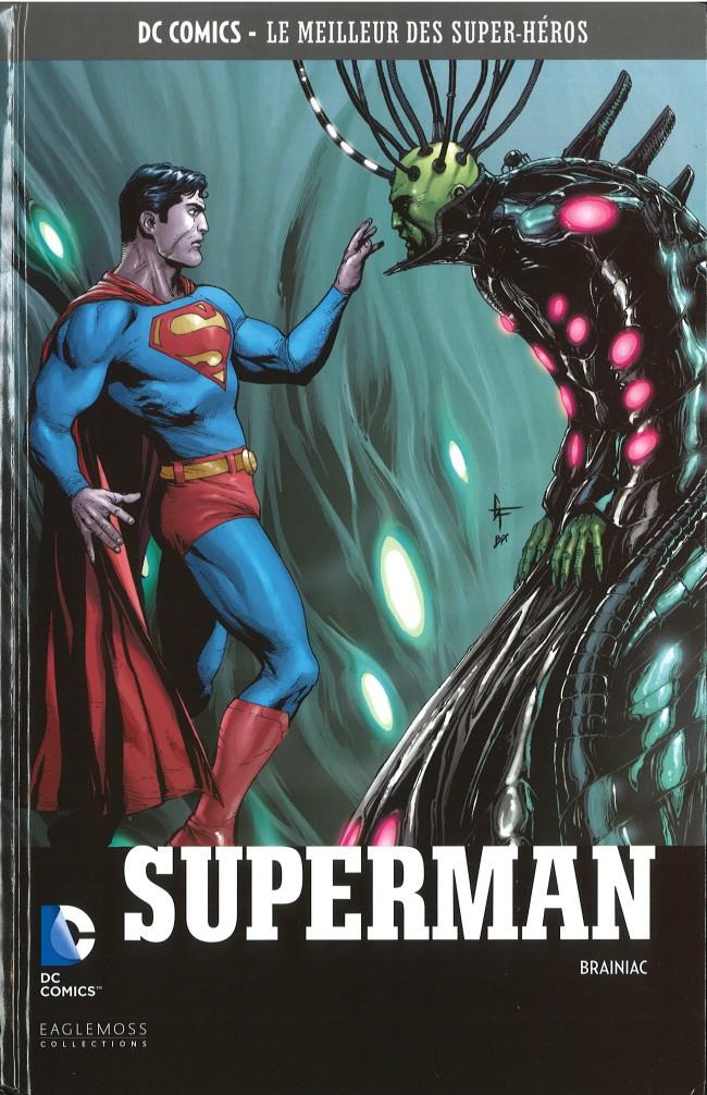 Couverture de DC Comics - Le Meilleur des Super-Héros -44- Superman - Brainiac