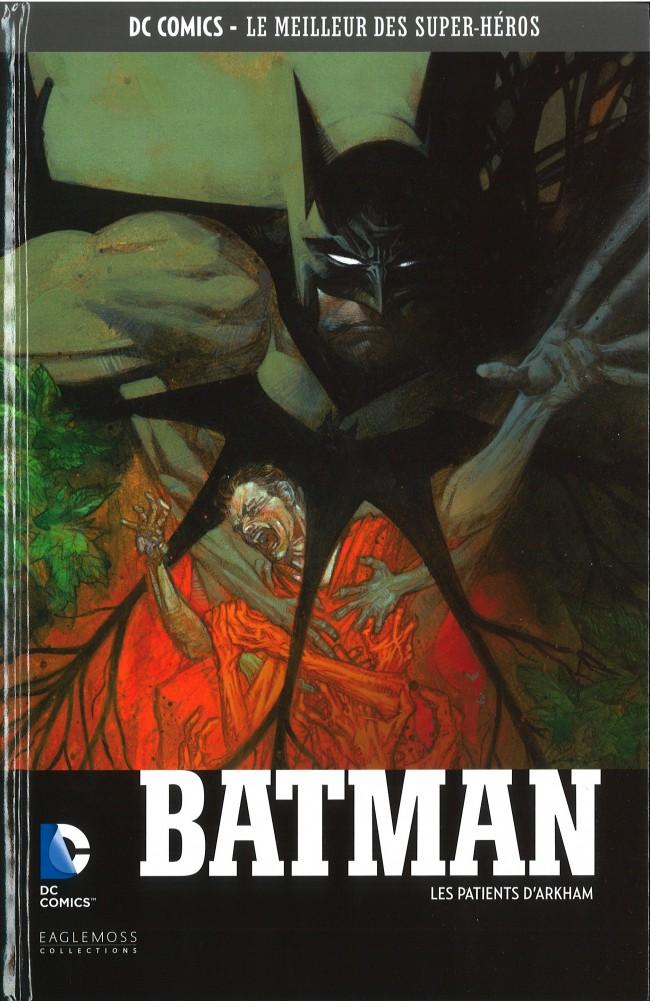 Couverture de DC Comics - Le Meilleur des Super-Héros -45- Batman - Les Patients d'Arkham
