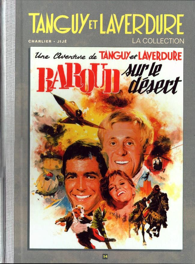 Couverture de Tanguy et Laverdure - La Collection (Hachette) -14- Baroud sur le désert
