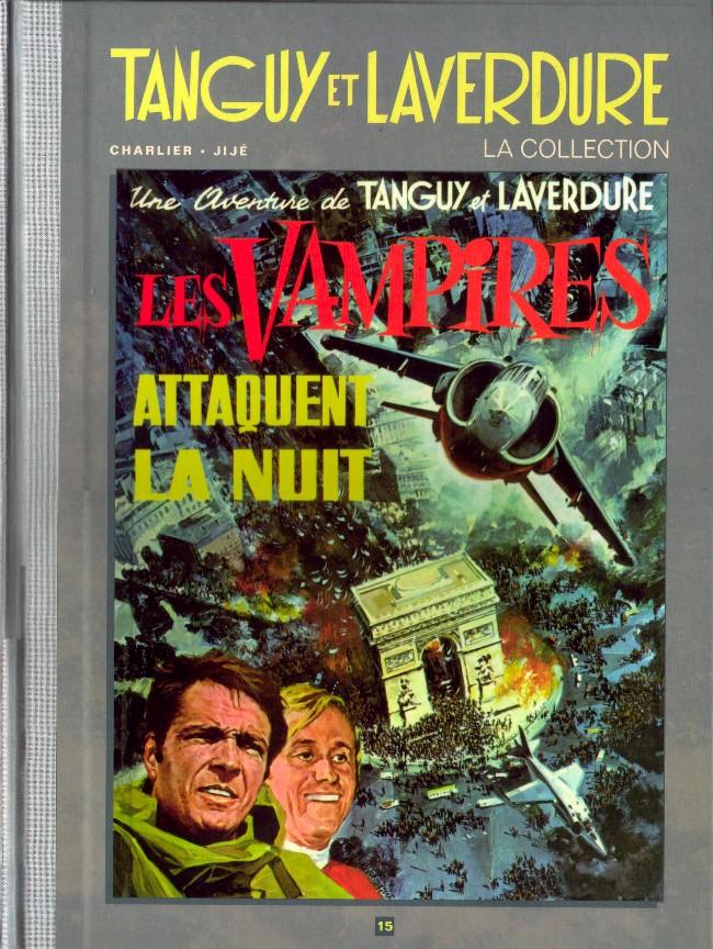 Couverture de Tanguy et Laverdure - La Collection (Hachette) -15- Les vampires attaquent la nuit