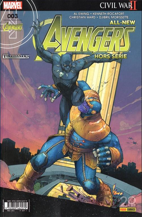 Couverture de All-New Avengers -HS03- Civil War II