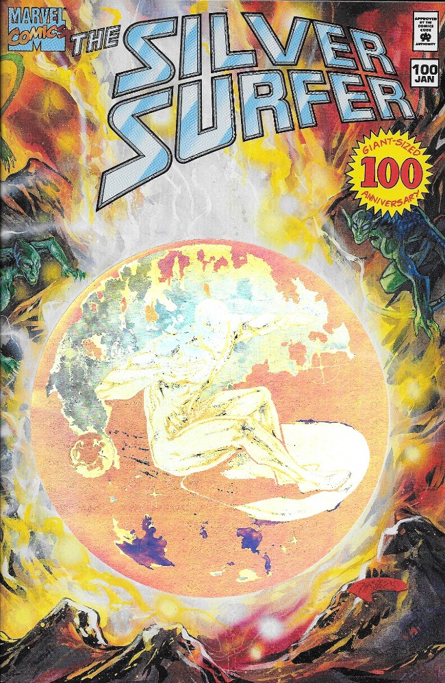 Couverture de Silver Surfer Vol.3 (Marvel comics - 1987) -100- The Silver Surfer
